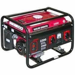 Generador gasolina 4T Camon WM2500 Salida máxima monofásica 2500 W
