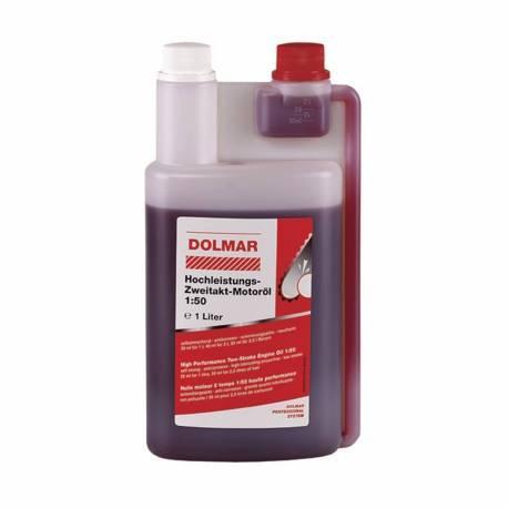 Aceite de 2 tiempos Dolmar 980008112 1L con dosificador