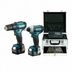 CLX228SMX1 Kit combo Makita HP333D+TD110D 12V MAX