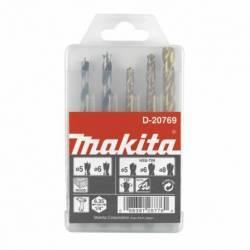 D-20769 Estuche de brocas para madera y metal 5 unid Makita