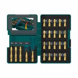 B-49915 Estuche de puntas Impact Gold 26 piezas Makita