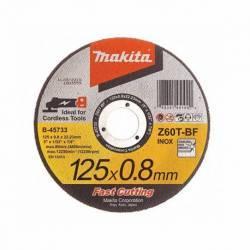 B-45733-12 Disco Makita de corte metal 125 mm x 0.8 mm x 22.23 mm