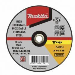 P-52249 Disco Makita de corte extrafino inoxidable 115 mm x 1.0 mm