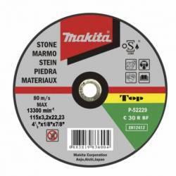 P-52211 Disco Makita de corte piedra 230 mm x 22.23 mm