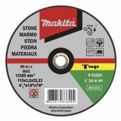 P-52940 Disco Makita de corte piedra 125 mm x 22.23 mm