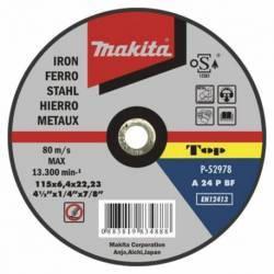 P-52984 Disco Makita de desbarbe 125 mm x 22.23 mm