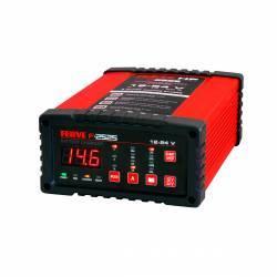 Cargador automático FERVE F-2525 12 V y 24 V