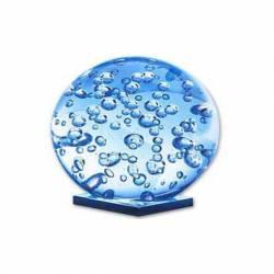 Bolita de cristal con burbujas