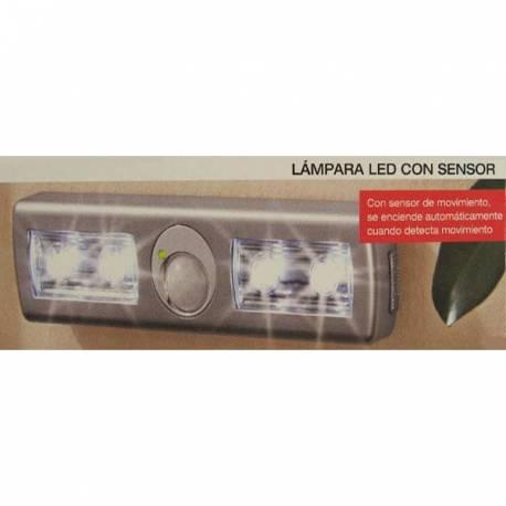 LAMPARA LED CON SENSOR
